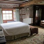 Master bedroom in Alexanderstone Manor
