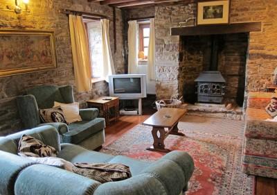 Alexanderstone Cottage sitting room