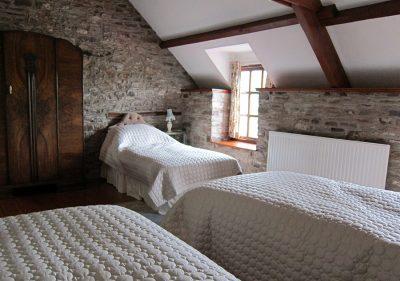 Second bedroom of Alexanderstone Cottage